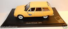 UH UNIVERSAL HOBBIES CITROEN GS BREAK 1975 POSTES POSTE PTT 1/43 IN BLISTER BOX