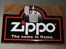 Zippo Lighter Metal Sign