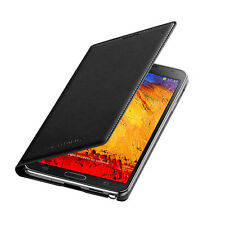 Original Samsung Galaxy Note 3 Negro Flip Funda ef-wn900bbeg En Caja, 24 Hr Post