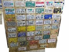 complete ALL 50 state MOTORCYCLE license plate lot