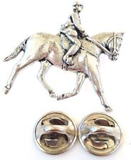Showpony Equestrian Handcrafted in Solid Pewter in UK Lapel Pin Badge