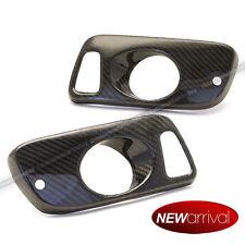 Fit 92-96 Civic 2dr Coupe 3dr Hatchback 100% Real Carbon Fiber Fog Light Covers