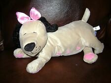 "MANHATTAN TOY PLUSH STUFFED MOMMA DOG NURSING NANA NO PUPPIES TAN 11"" CUTE"