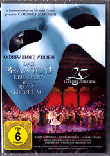 DVD THE PHANTOM OF THE OPERA Andrew Lloyd Webber 25 Aniversary Royal Albert Hall