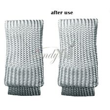 2Pcs TIG Welding Finger Glass Fiber Finger Shield Guard Heat Protection Gloves