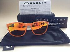$140 New Authentic Oakley Enduro Sunglasses Fingerprint Atomic Orange OO9223 55