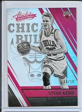 2016-17 Absolute Steve Kerr Gold Spectrum Legend # 8/10 Bulls Warriors