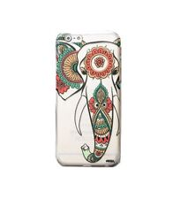 "Vintage Retro Elephant Transparent Hard Cover Phone Case For iPhone 6 6s (4.7"")"