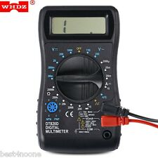 WHDZ DT830D LCD Screen Digital Display Multimeter AC DC Voltmeter Tester