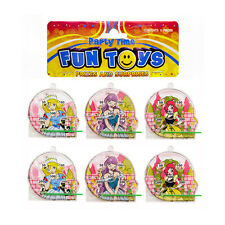 24 Bags of 6 Mini Princess Pinball Puzzles - New Wholesale Pocket Money Toys
