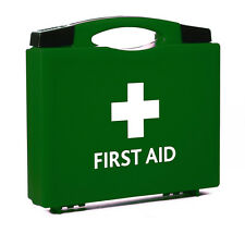 Keele First Aid Box Green Empty 20cm x 22.5cm x 4.5cm
