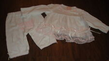 BOUTIQUE BABY BISCOTTI 3M 3 MONTHS PINK GORGEOUS TOP PANT SET