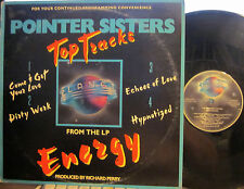 """Pointer Sisters - Top Tracks  (4 song Promo EP) (""""Dirty Work"""" & """"Hypnotized"""")"""