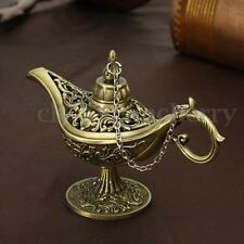 Collectable Classic Rare Legend Aladdin Magic Genie Light Lamp Wish Lamp Bronze