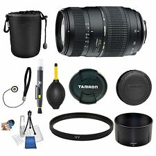 Tamron 70-300mm f/4-5.6 Di LD Macro Autofocus Lens for Nikon AF Lens Bundle New