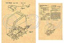 1984 STEVE JOBS Patent Apple Computer Mouse - Programmer Geek Art Print PM#933