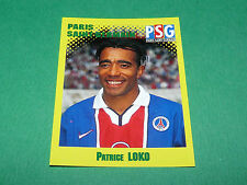 N°278 PATRICE LOKO PARIS SAINT-GERMAIN PSG PANINI FOOT 98 FOOTBALL 1997-1998
