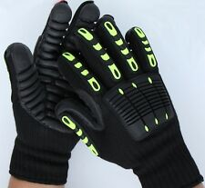 Safety Working Anti-Vibration Gloves Mechanical Shock Impact Resistant