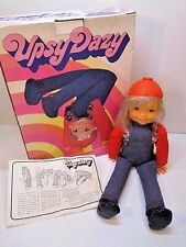 VINTAGE RARE 1973 IDEAL UPSY DAISY DAZY DOLL IN ORIGINAL BOX 1970'S TOY