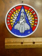 NASA SPACE SHUTTLE CENTAUR PATCH (NEW WITHOUT TAGS)