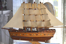 Wood model ship large scale sailing boat