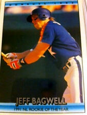 Jeff Bagwell 1991 NL Rookie of the Year Card