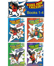 KUNG POW CHICKEN 1-4 (pb) Let's Get Cracking,Bok Bok Boom,Birdy Snatchers +4 Bks