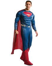 """Batman Disfraz De V Superman para hombre Delux Superman, STD, Cintura Pecho 44"""", 30-34"""",LEG 33"""""""