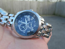 CITIZEN PERPETUAL CALENDAR CHRONOGRAPH TACHYMETER DIVERS ECO DRIVES 100M VGC BOX