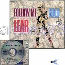 "AMANDA LEAR ""GOLD / FOLLOW ME"" RARE CDMAXI GERMANY"