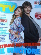 TV Sorrisi e Canzoni n°9 2013 Belen Rodriguez - Un anno senza Lucio Dalla [D17]