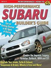 Subaru High Performance Guide - Impreza Legacy WRX STI - Race or Street Engines