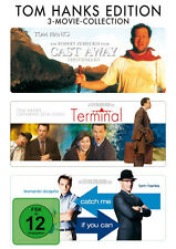3 MOVIE COLLECTION * CAST AWAY - TERMINAL - CATCH ME IF YOU CAN | HANKS #NEU OVP