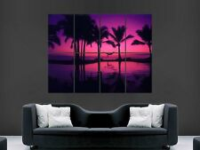 MEXICO BEAUTIFUL SUNSET HUGE LARGE WALL ART POSTER PICTURE