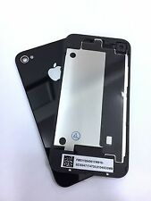 Apple iPhone 4 4G GSM Replacement Rear Glass Back Cover Battery Door A1332 Black