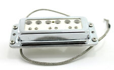 FrankenTone Chester Pickup - DeArmond mount Alnico Single Coil Neck - White