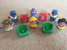 Fisher Price Little People figure bundle (10 items)