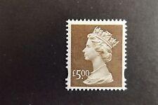GB QEII MNH Machin Definitive Stamp. SG Y1803 £5 Brown Slania