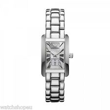 NEW EMPORIO ARMANI AR0171 MOTHER OF PEARL LADIES WATCH - 2 YEAR WARRANTY