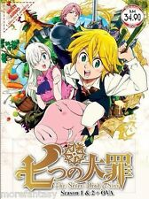 The Seven Deadly Sins ( 1-24 + 2 OVA) DVD - ENGLISH DUBBED + Free Gift