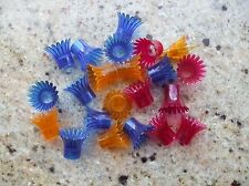 Vintage Reflectors Christmas Tree Lights Flowers Replacement Spare Hard Plastic
