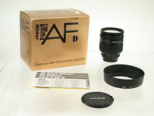 NIKON AF-D 28-200 28-200mm IF F3,5-5,6 analog + digital top OVP /16