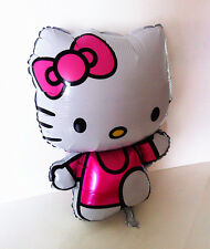 "Hello Kitty Helium Foil Balloon 31"" BIG HUGE GIANT 75cm X 50cm kids Party Gift"