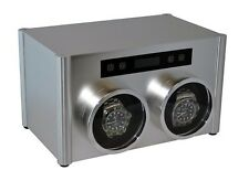 Pangaea D880 Double Metal Watch Winder with Cover 2 Japanese Mabuchi Motors