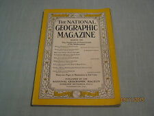 VINTAGE NATIONAL GEOGRAPHIC March 1940 GRECIAN ODYSSEY Italy Roman Ruins -Radio