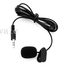 3.5mm Active Clip W/ Collar Mic Microphone for GoPro Hero 3 3+ 4 Sports Camera