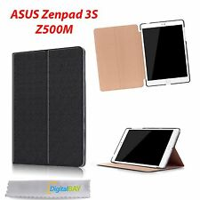 CUSTODIA COVER HORIZONTAL FLIP CASE NERO + HOLDER PER ASUS ZENPAD 3S Z500M
