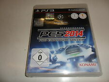 PlayStation 3 PS 3 pes 2014-Pro Evolution Soccer