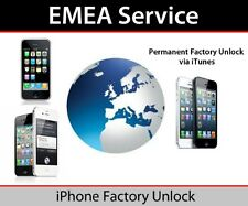 EMEA Factory Unlocking for iPhone 4S 5 5C 5S 6 6+ 6s EMEA Service Policy Unlock