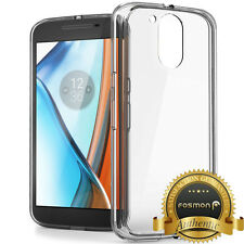 Fosmon [HYBO-FENDER] for Motorola Moto G4 Plus G4 Clear Shockproof Case Skin